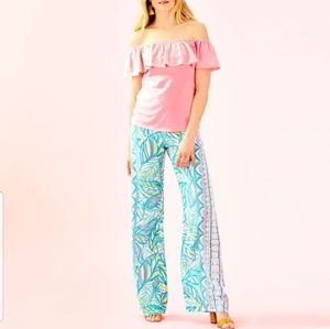 "Lilly Pulitzer 33"" Bal Harbour Palazzlo Pants"
